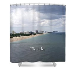 Ft Lauderdale Florida Shower Curtain