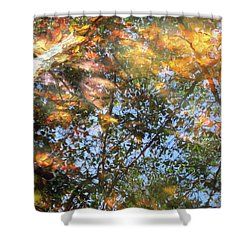 Aqueous Reflections 2 Shower Curtain