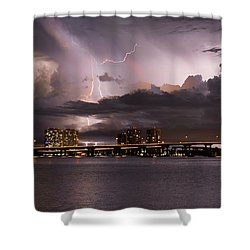 Ft Myers Nights Shower Curtain