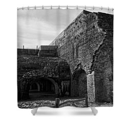 Ft. Pickens Explosion Shower Curtain