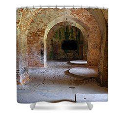 Ft. Pickens Interior 3 Shower Curtain