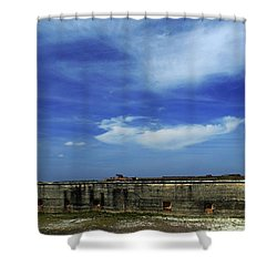 Ft. Pickens Sky 2 Shower Curtain