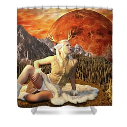 Fuan At Dawn Shower Curtain