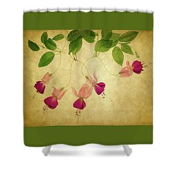 Fuchsia #1 Shower Curtain