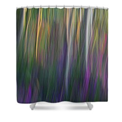 Fuchsia At Dawn Shower Curtain