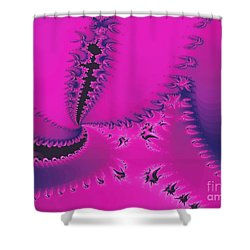 Fuchsia Twilight Shower Curtain