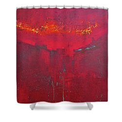 Fuego Shower Curtain by Filomena Booth