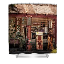 Fueling America Shower Curtain