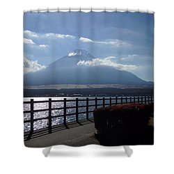 Fuji From Lake Yamanaka Shower Curtain