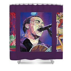 Full Band Set Shower Curtain by Joshua Morton
