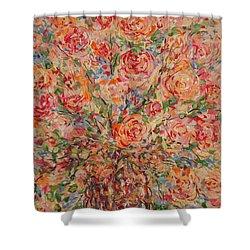 Full Bouquet. Shower Curtain