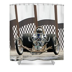 Full Frontal Slingshot Shower Curtain