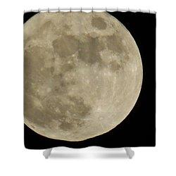 Full Moon 11/25/15 Shower Curtain