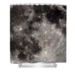 Full Moon 7-31-15 Shower Curtain