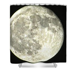 Shower Curtain featuring the photograph Full Moon Love by Nikki McInnes