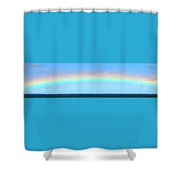 Full Rainbow Shower Curtain