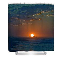 Full Sun Up Shower Curtain