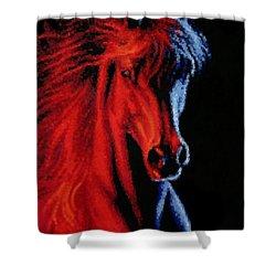 Full Tilt Shower Curtain by Kristin Elmquist
