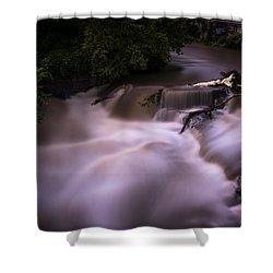 Shower Curtain featuring the photograph Full Whetstone by Tom Singleton