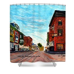 Fuller Building  Shower Curtain