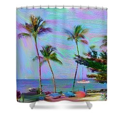 Fun At The Beach Shower Curtain