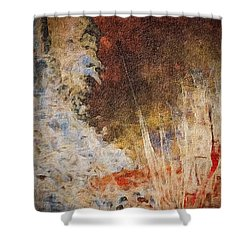 Fun By The Lake Shower Curtain by William Wyckoff