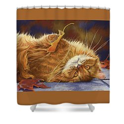 Fun In The Fall Shower Curtain