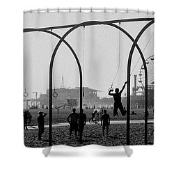 Fun In The Sun Shower Curtain by Cecil K Brissette