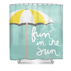 Fun In The Sun Shower Curtain by Linda Woods