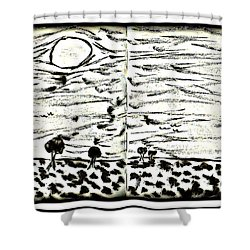 Fun In Trees 2 Shower Curtain