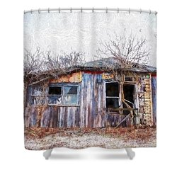 Funky Shack Shower Curtain