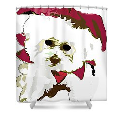 Funnie Bunnie Shower Curtain