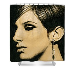 Funny Girl Shower Curtain