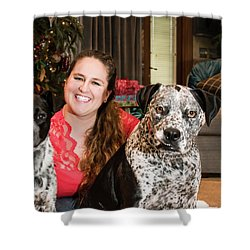 Fur Babies Shower Curtain