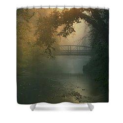 Furnace Run - Square Shower Curtain