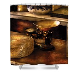 Furniture - Table - Curious Items For Sale  Shower Curtain by Mike Savad