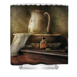 Furniture - Table - The Water Pitcher Shower Curtain by Mike Savad