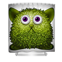 Furry Derby Shower Curtain