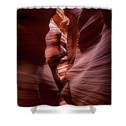 Shower Curtain featuring the photograph Further In The Canyon by Jon Glaser