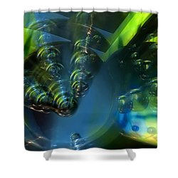 Furturistic Shower Curtain