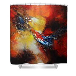 Fury Shower Curtain by Patricia Lintner