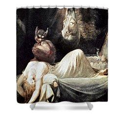 Fuseli: Nightmare, 1781 Shower Curtain by Granger