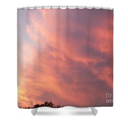 Futile Faces Shower Curtain by Stephen King