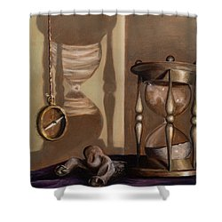 Futility Shower Curtain
