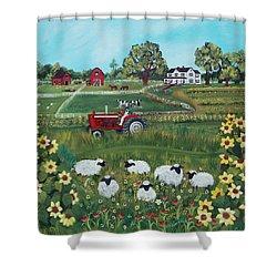 Future Farmer Shower Curtain