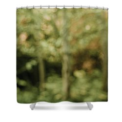 Fuzzy Vision Shower Curtain