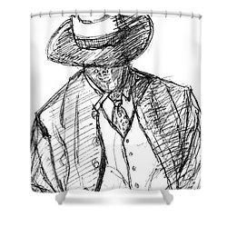 G-man Shower Curtain