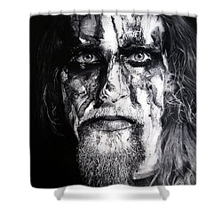 Gaahl Shower Curtain