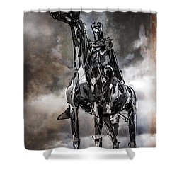 Gaelic Chieftain Shower Curtain
