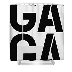 Gaga Shower Curtain